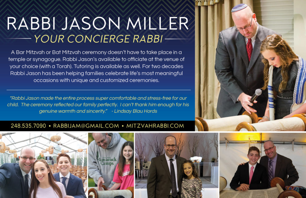 Rabbi Jason Miller - Bar Mitzvah & Bat Mitzvah